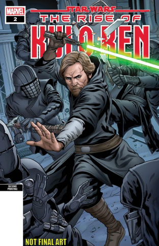 Star Wars: The Rise of Kylo Ren #2 (Sliney 2nd Printing)