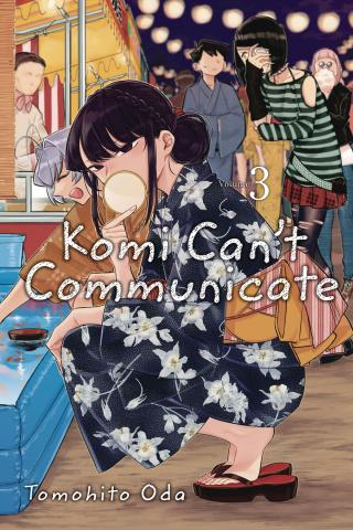Komi Can't Communicate Vol. 3