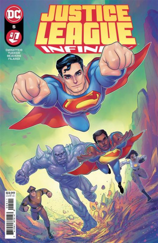 Justice League: Infinity #5