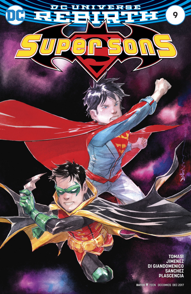 Super Sons #9 (Variant Cover)