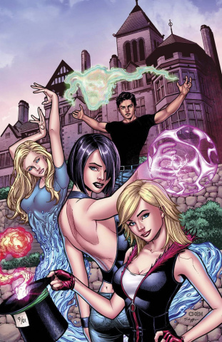 Grimm Fairy Tales #108 (Chen Cover)