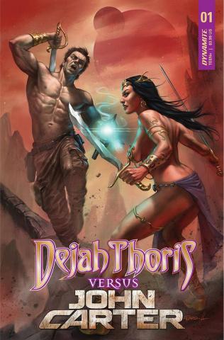 Dejah Thoris vs. John Carter of Mars #1 (Parrillo Cover)