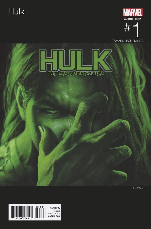 Hulk #1 (Rahzzah Hip Hop Cover)