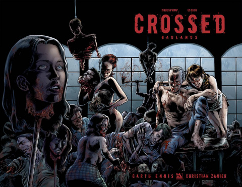 Crossed: Badlands #56 (Wrap Cover)
