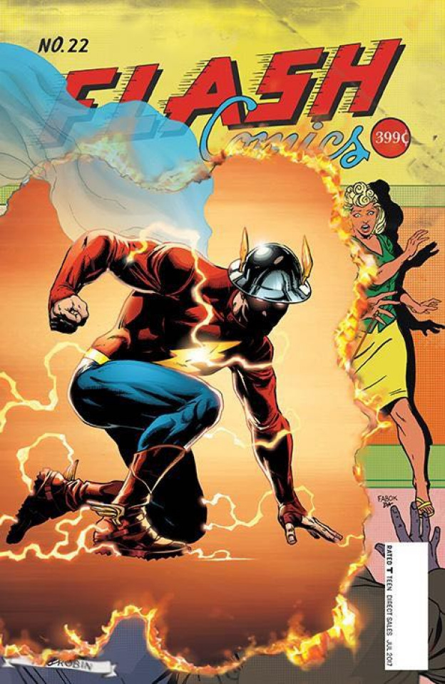 The Flash #22 (The Button)