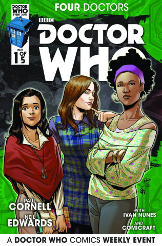 Doctor Who: Four Doctors #1 (25 Copy Cover)
