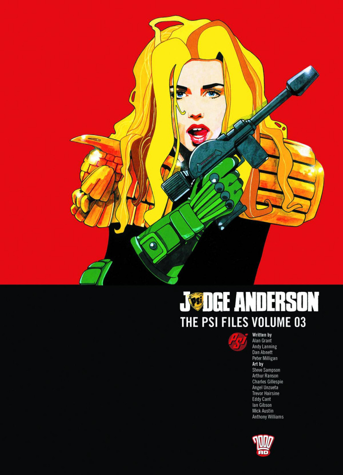 Judge Anderson: The Psi Files Vol. 3