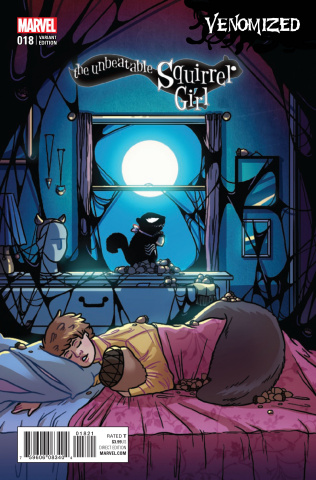 The Unbeatable Squirrel Girl #18 (Leth Venomized Cover)