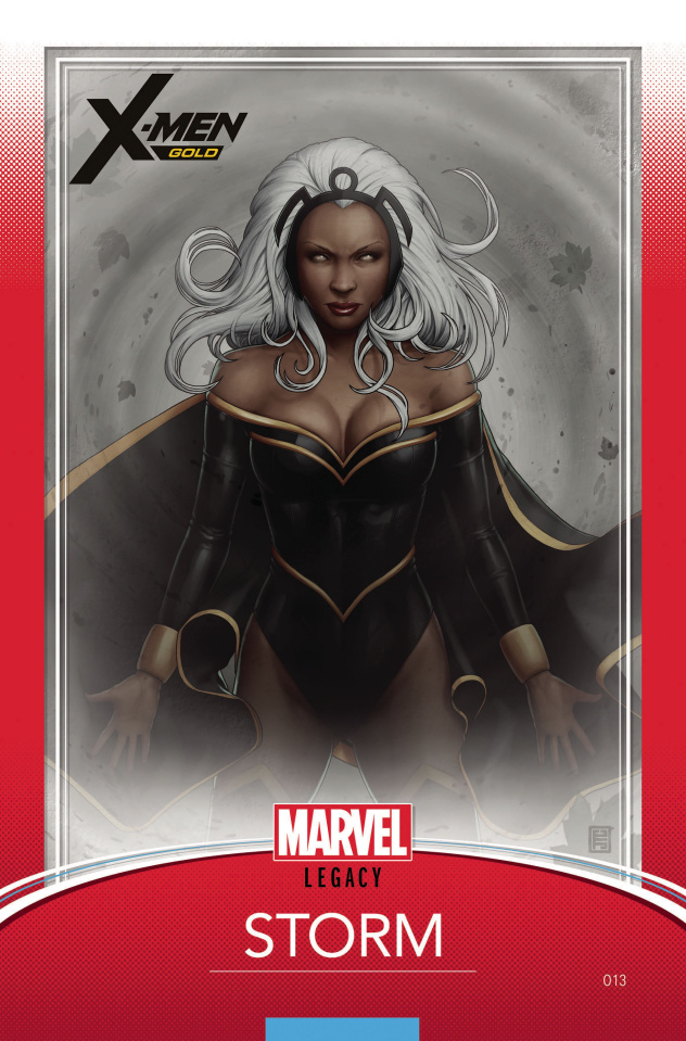 X-Men: Gold #13 (Christopher Trading Card Cover)