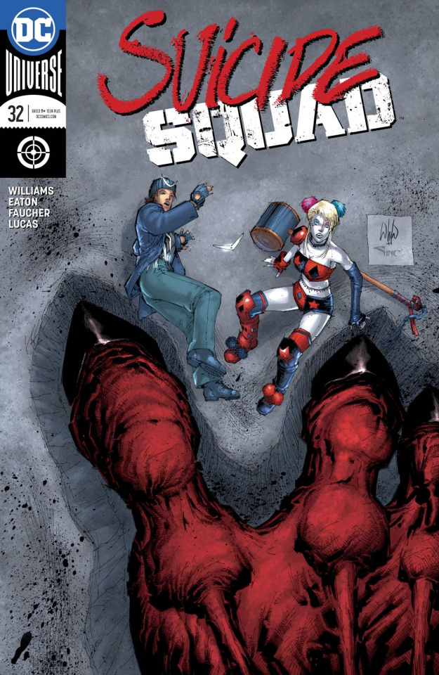 Suicide Squad #32 (Variant Cover)
