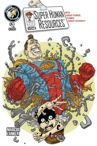 Super Human Resources #2 (Callahan Cover)
