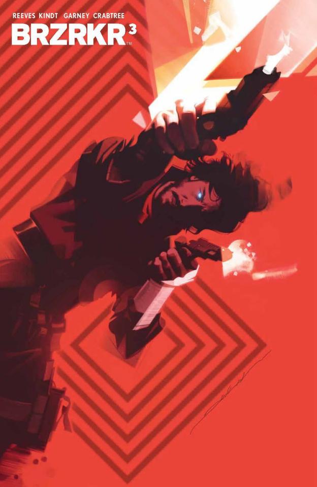 BRZRKR #3 (Dekal Foil Cover)