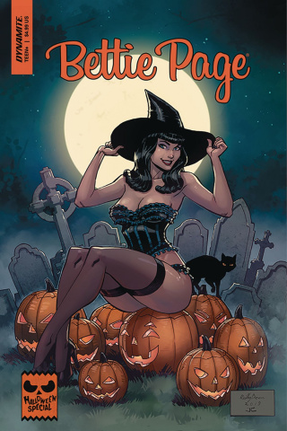 Bettie Page Halloween Special (Brown Cover)