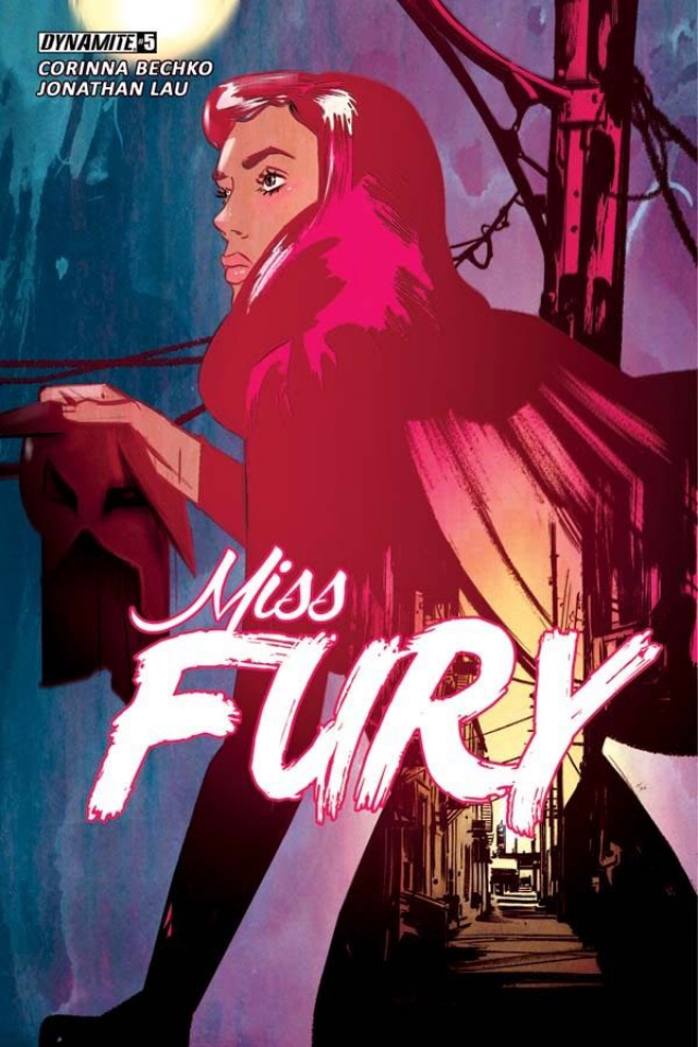 Miss Fury #5 (Lotay Cover)