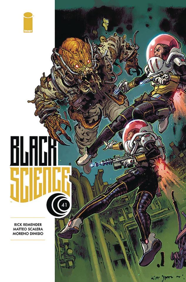 Black Science #41 (Gi Cover)