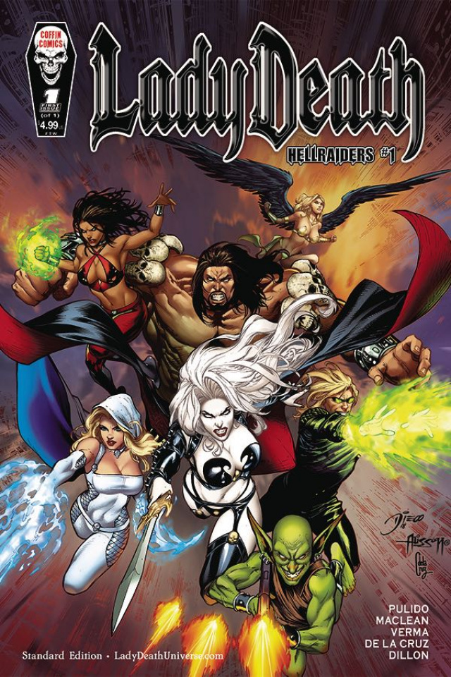 Lady Death: Hellraiders #1
