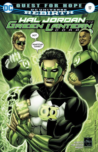 Hal Jordan and The Green Lantern Corps #17