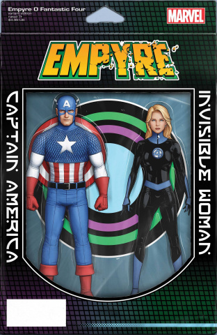 Empyre: Fantastic Four #0 (Christopher 2-Pack Action Figure Cover)