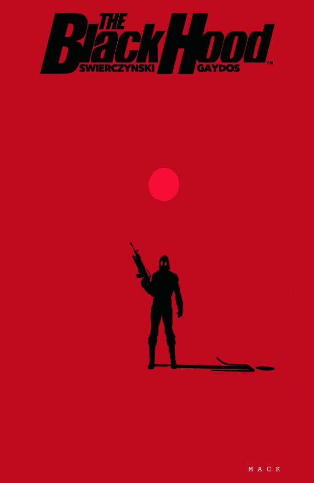 The Black Hood #3 (Mack Cover)