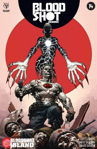 Bloodshot: Reborn #14 (Giorello Cover)
