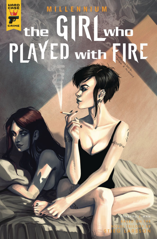 The Girl Who Played With Fire #2 (Iannici Cover)