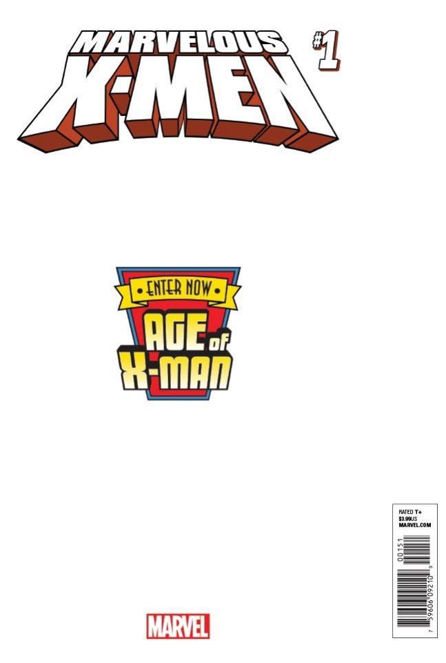 Age of X-Man: The Marvelous X-Men #1 (Pacheco Secret Cover)