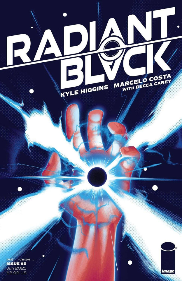 Radiant Black #5 (Doaly Cover)