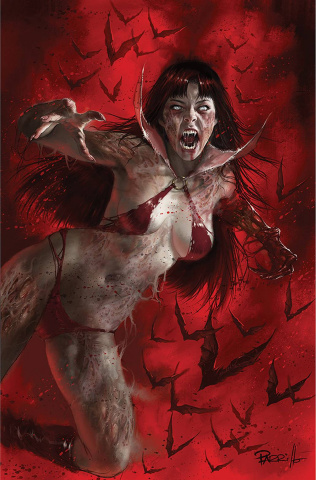 DIE!namite Lives! #5 (Parrillo Virgin Cover)