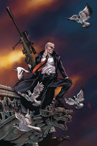 Agent 47: Birth of the Hitman #6 (20 Copy Lau Virgin Cover)