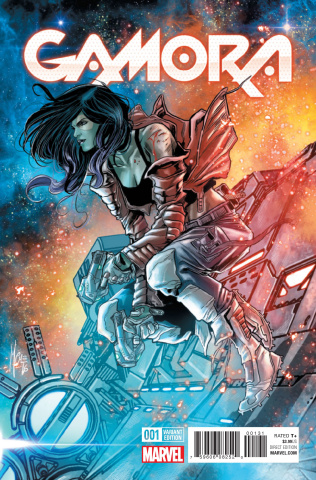 Gamora #1 (Checcheto Cover)