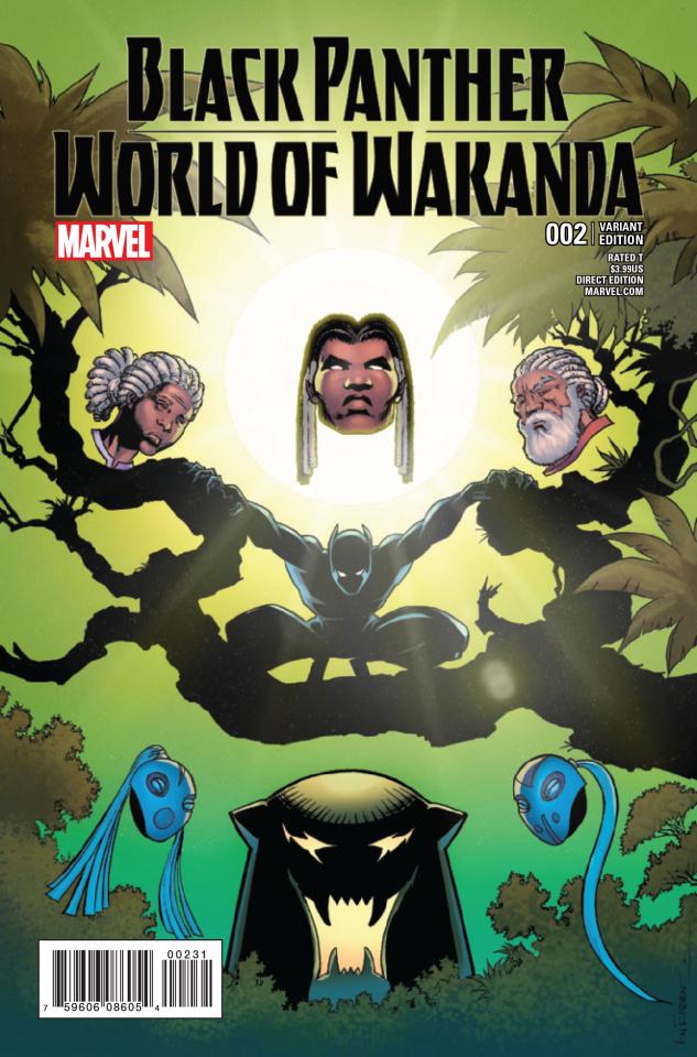 Black Panther: World of Wakanda #2 (Von Eeden Cover)