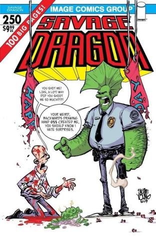 Savage Dragon #250 (Young Cover)