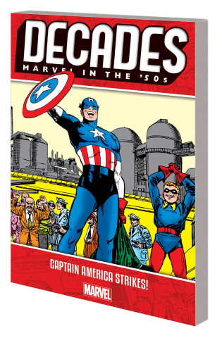 Decades: Marvel in the  '50s: Captain America Strikes!