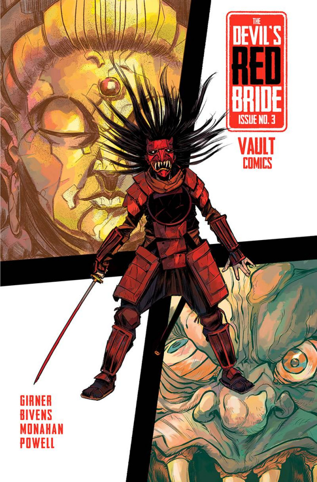 The Devil's Red Bride #3 (Bivens Cover)