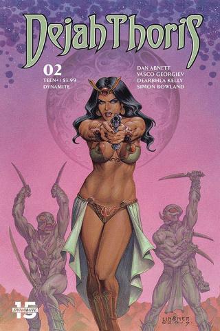 Dejah Thoris #2 (Linsner Cover)