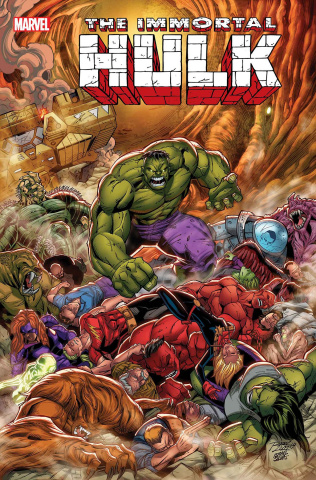 The Immortal Hulk #25 (Lim Cover)