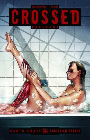Crossed: Badlands #50 (Torture Cover)