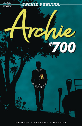 Archie #700 (Hack Cover)