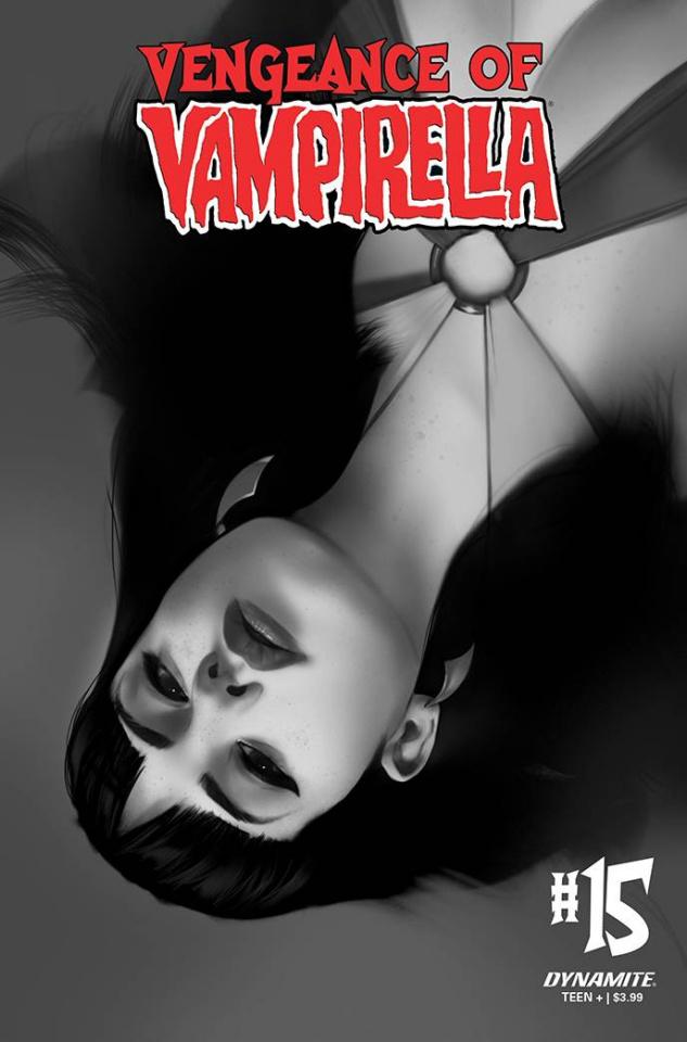 Vengeance of Vampirella #15 (30 Copy Oliver B&W Cover)