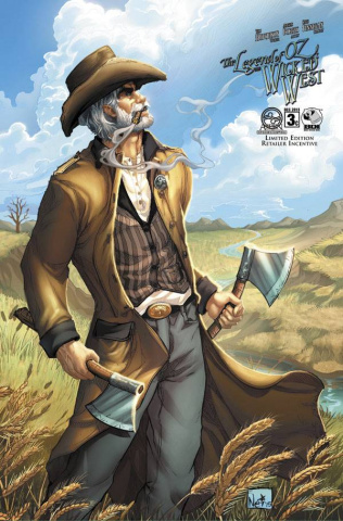 The Legend of Oz: The Wicked West #3 (8 Copy Cover)