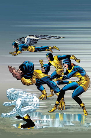 X-Men: Blue #1 (Kirby Cover)