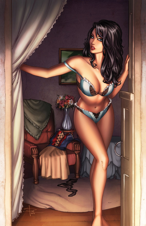 Grimm Fairy Tales 2016 Photo Shoot (Rich Cover)