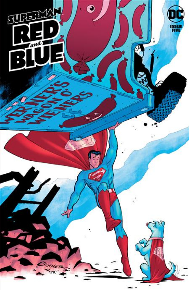 Superman: Red and Blue #5 (Amanda Conner Cover)