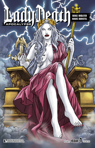Lady Death: Apocalypse #1 (Auxiliary Cover)