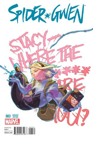 Spider-Gwen #3 (Putri Cover)