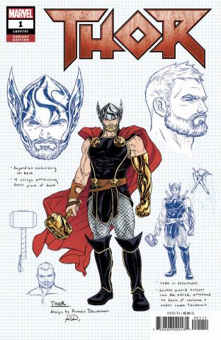 Thor #1 (Dauterman Design Cover)