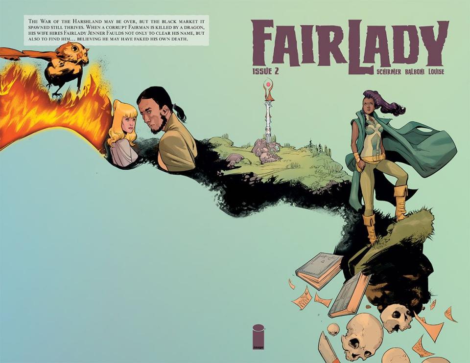 FairLady #2 (Balboni & Louise Cover)