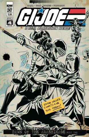 G.I. Joe: A Real American Hero #247 (Ed Gallant Cover)