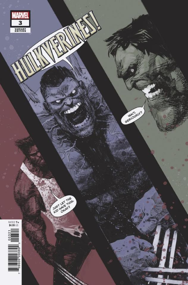 Hulkverines #3 (Zaffino Cover)
