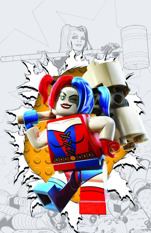 Harley Quinn #12 (Lego Cover)